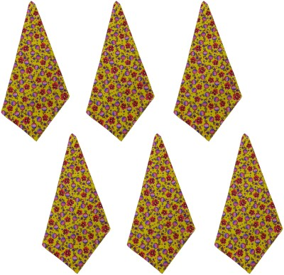 Cotonex Multicolor Set of 6 Napkins