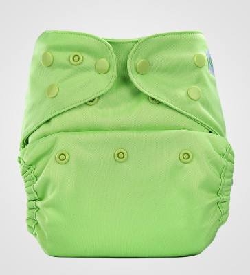 Bumberry Cloth Diaper Cover + One Natural Bamboo Cotton Insert