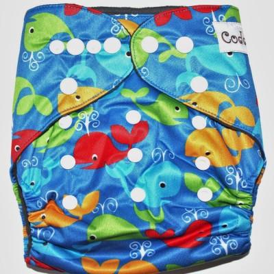 Coddle Pocket Cloth Diaper plus a 3 layer microfiber insert