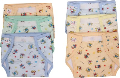 Vadmans Vadmans Tinycare Inside Cloth Outside Plastic Nappy