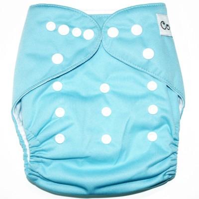 Coddle Pocket Cloth Diaper plus a Microfiber Insert- Bright Champ