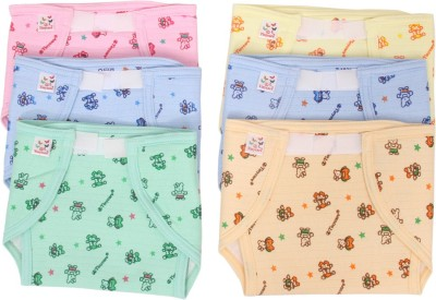 Vadmans Vadmans Tinycare Outside Cloth Inside Plastic Nappy