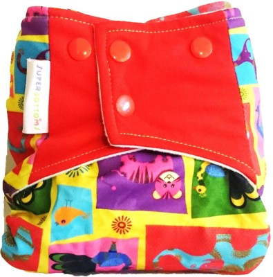 Superbottoms Cloth Diapers - Plus diaper for heavy absorbency (All-in-one Cloth Diapers with Pocket)