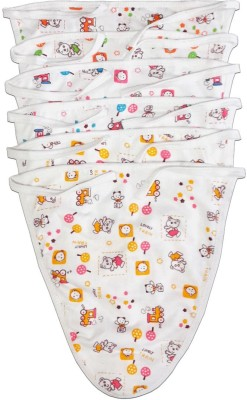 Rachna Printed U Shape White Nappy