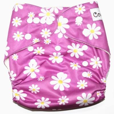 Coddle Pocket Cloth Diaper plus a Microfiber Insert- Floral Pink