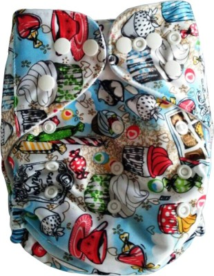 Naughty Baby Pocket Cloth Diaper With 1 Four Layer Insert