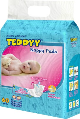 Teddyy Nappies (60 Pieces)