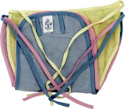 Super Baby New Just Born 100% Double Cotton Cloth Nadi Washable Reusable Cotton Diaper/Langot Mini,((0-3Months)