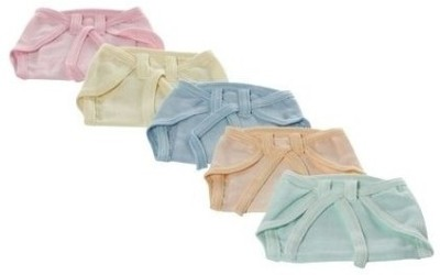 Tiny Care U Shaped Hosiery Colored Tying Nappies