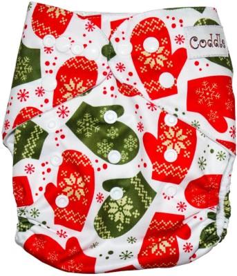 Coddle Pocket Cloth Diaper Plus A Microfiber Insert, Christmas Special!!