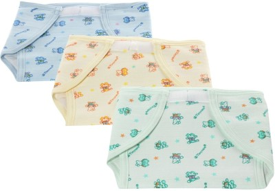Tiny Care U Shaped Outside Cloth Inside Plastic Nappies