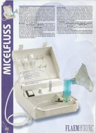 Flaemnuova Micelfluss Linea Comfor F400 Nebulizer(White)