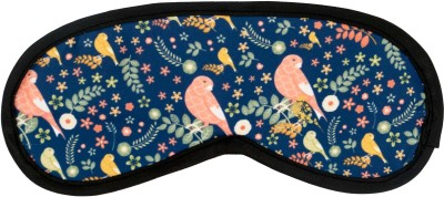 The Crazy Me Bird PatternTravel Mask Eye Shade