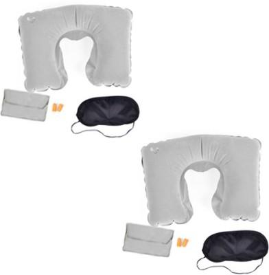 Etheco Travel Pillow Combo Set Neck Pillow & Eye Shade