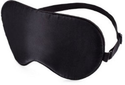 Nimble House Mulberry SILK Sleep easy flights at home DOUBLE SIDE Sleep Care Mask(Both side Black) Eye Shade