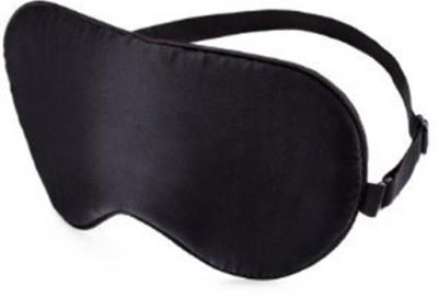 Nimble House Mulberry SILK Sleep easy flights at home DOUBLE SIDE Sleep Care Mask(Both side Black) Eye Shade(Black)