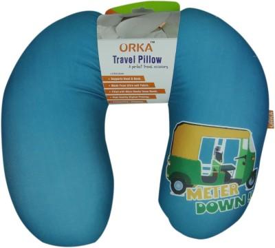 ORKA Blue Auto Neck Pillow
