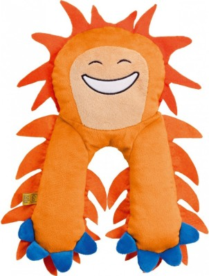 Go Travel Monster Pillow - Orange Neck Pillow