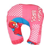 Muren Up Angry Bird - Pink Neck Pillow (...