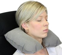 Aktive Support Inflatable Neck Pillow(Grey)
