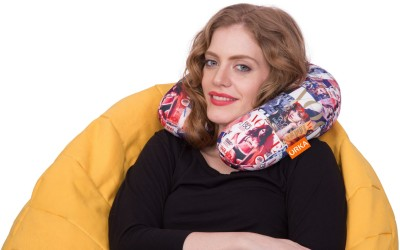 ORKA Cover Page Neck Pillow