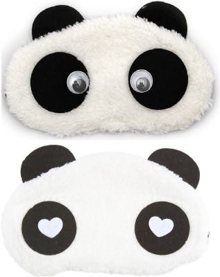 6f1797a7225 Jenna WH Eyes Panda Travel Sleep Cover Blindfold (Pack of 2)(2 g