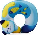 Travel Blue Cat Fun Neck Pillow (Blue an...
