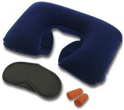 Divinext Combo of Eye Mask, Neck Pillow & Ear Buds Neck Pillow & Eye Shade Neck Pillow