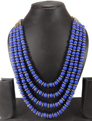 Shiv Kutumb Stone, Metal, Plastic Necklace