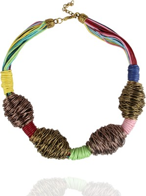 Via Harp lincoln necklace Metal Chain
