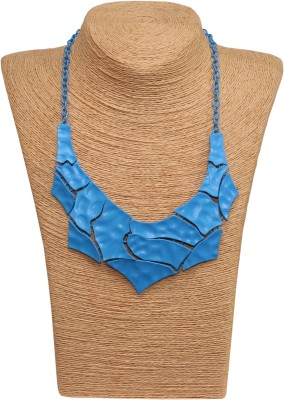 Outdazzle Designer Abstract Metal Necklace