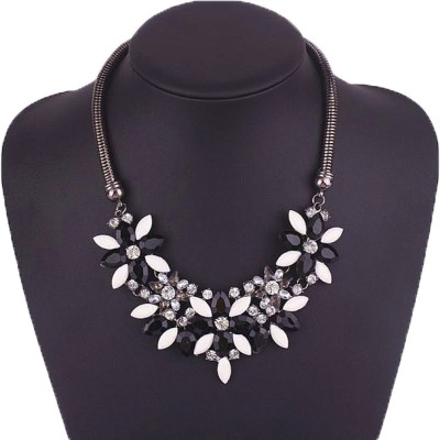 Aadalika Crystal Alloy Necklace