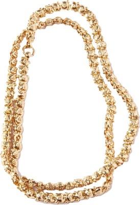 J.N.Gold Goldplated Kerala Bindi Heart (239) Copper Chain