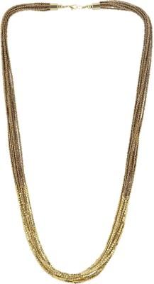 Eastern Roots Designer Metal Necklace