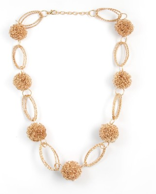Zahra Jani ZJ Wire Beads Necklace Metal Chain