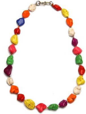 Zahra Jani ZJ Stone Necklace Metal Chain