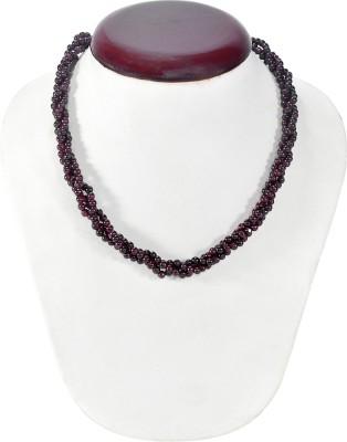 Cosmic 7 Jewellery Garnet Silk Dori Necklace