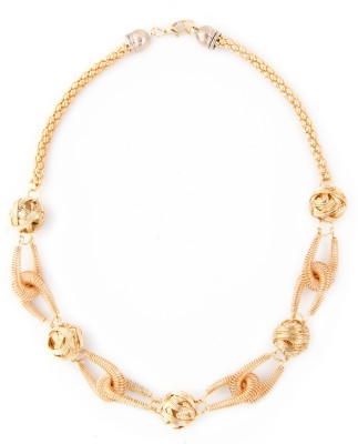 Zahra Jani ZJ Wire Necklace Metal Chain