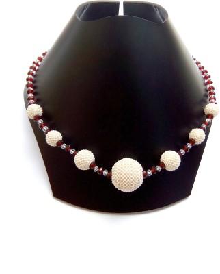 shalini jewlles Beads Plastic, Crystal Necklace