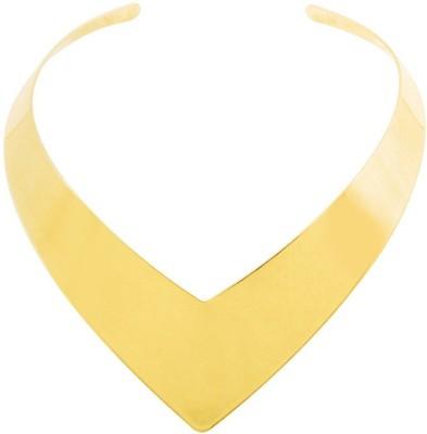Simaya Fn 0512 Yellow Gold Plated Alloy Choker at flipkart