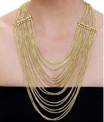 Minha Brass Plated Alloy Chain