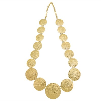 Simaya FN 0456 Yellow Gold Plated Alloy Necklace at flipkart
