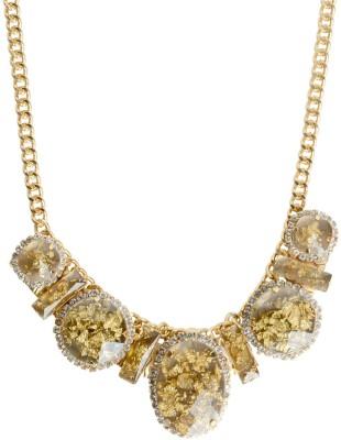 Sparkle Street Zinc, Glass, Crystal, Resin Necklace at flipkart