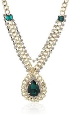 Dress Villa Acrylic, Alloy Necklace at flipkart