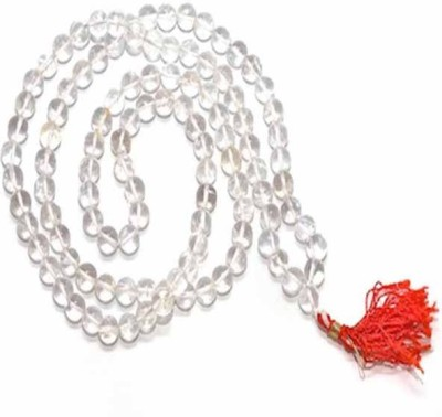 Panditnmshrimali Sphatik Mala Crystal Necklace at flipkart