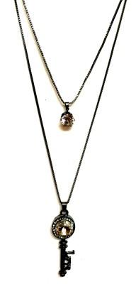 A M International Alloy Necklace
