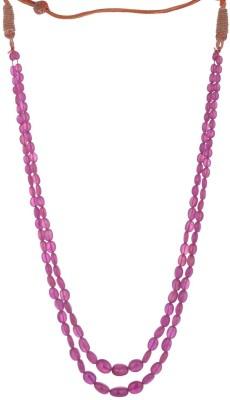 Sanskriti Jewels Ruby Stone Necklace
