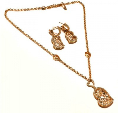 Sanaa Creations Alloy Necklace Set at flipkart