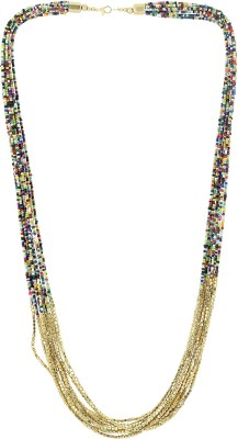 Eastern Roots Color Spark Metal Necklace