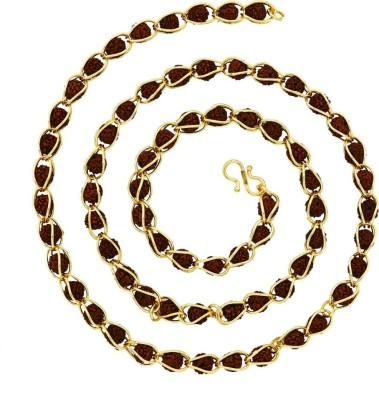 knp enterprise 22K Yellow Gold Plated Brass Chain